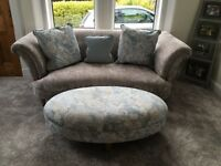 DFS 2 seater sofa CATHERINE style in grey