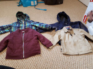 Boys fall/spring jackets