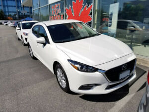 2017 Mazda 3 Sports GS White Manual 13,000 KM