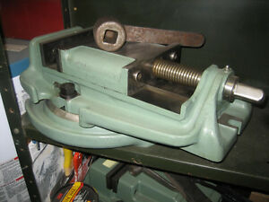 "Large 8"" Milling Machine Vice with Swivel"