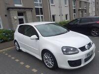 White VW Golf GT TDI Sport 2.0