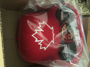 Brand New Blue Jays Canada Day Hat 7 3/8