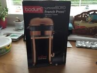 Bodum Chambord French Press Cafetière 8 cup, brand new