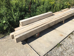 Construction Hardwood Timber 4x6 by 12 ft length