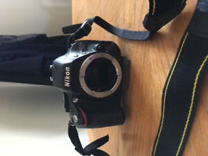 Nikon 5100 camera and four lenses and accessories