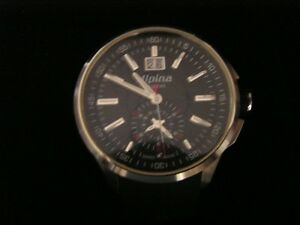 ALPINA RACING CHRONO BIG DATE HIGH PRECISION SWISS QUARTZ