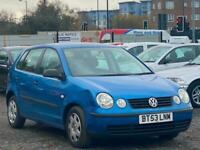 * 53 2004 VW POLO VOLKSWAGEN 1.2L 5 DOOR + CLICK & COLLECT BUY FROM HOME *