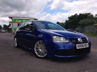 2008 golf r32 blue wingback recaro seats