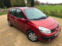 2006 Renault Scenic 1.6 VVT (111bhp)Oasis-1 F Keeper-MOT Sep 18-7 Service Stamps