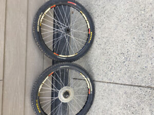 Maxxis tires and rims 24 inch/best offer