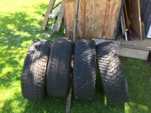 Winter tires for sale 15 in.