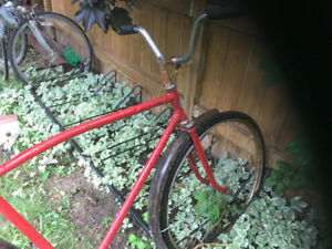 URGENT: cute red bike for sale best offer has to go by today