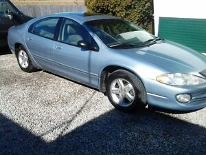 2004 Chrysler Intrepid Blue Sedan