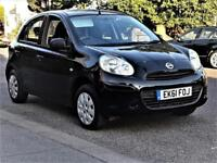 £30 Tax -- 2011 Nissan Micra 1.2 Visia -- Low 64000 Miles -- CHEAP on Fuel + Tax