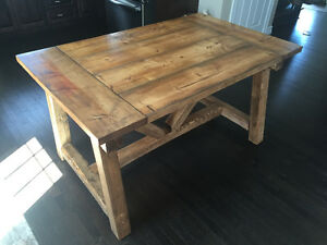 Custom harvest table
