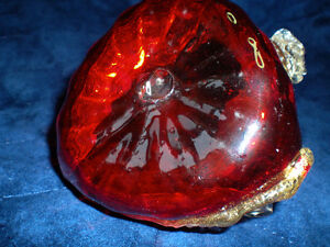 RUSSIAN GLASS AND 24 KT GOLD SWAN PIECE Kitchener / Waterloo Kitchener Area image 4