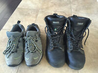 Two Pairs Dakota Steel Toe Safety Shoes and Boots