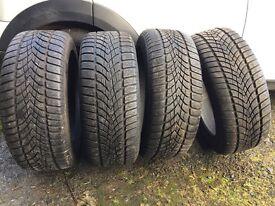 4 x Winter Tyre DUNLOP SP WINTER SPORT 3D 235/50R18