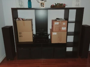 IKEA Lappland TV Unit (Black/brown) *CHEAP, DELIVERY INC!*