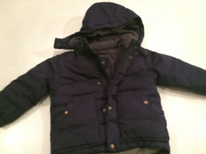 gap winter jacket size 2