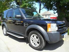 LAND ROVER DISCOVERY 3 2.7TD AUTO 7 SEAT 2008 COMPLETE WITH M.O.T INC WARRANTY