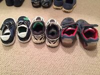 Boys size 7 brand name shoes