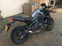 Kawasaki er6n 2014 6400 miles
