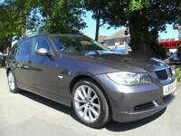 BMW 320 2.0TD AUTO 2008 EDITION SE TOURING COMPLETE WITH M.O.T HPI CLEAR INC