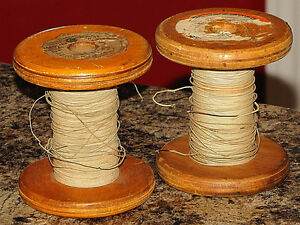 Vintage Magnet Wire Spools!