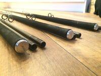 3 X Fox 12' Vario carp rods