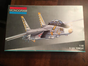 F-14A Tomcat model jet and paint included