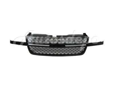 For 2006-07 Silverado 1500 / 05-07 Silverado 2500 3500 Ss Model Grille PTM