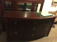 MUST GO ASAP!! Send best offer!!! Hutch and buffet..