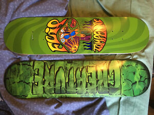 Two brand new decks and other parts