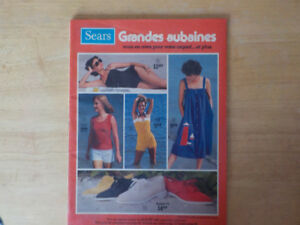 Collection de Catalogues: Simpson Sears, Sears,Eaton et plus.. A