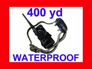600 Yard WATERPROOF 7 LEVEL SHOCK VIBRATION COLLAR AT-216S