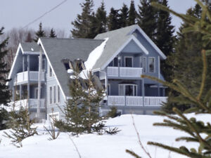Peace and quiet on 2,6 acres, scenic ocean views, 90 min to Hali
