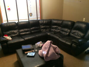 Trade very nice leather sectional for vehicle