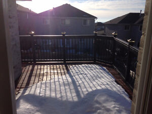 Fairly new modern 3 bedroom master bedroom walkout to deck!
