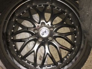 Rims on Tires 19 inch Kitchener / Waterloo Kitchener Area image 4