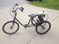 Tricycle - 3 Wheel Bike With Motor