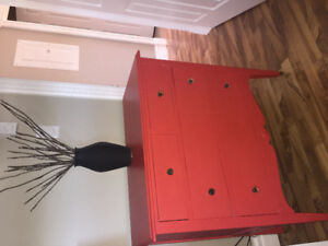 Refinished antique dresser for sale