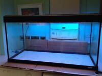 Fluval 200 l aquarium / fishtank