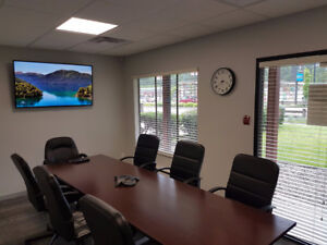 State-of-the-art BOARDROOM. Hourly & Daily Rate. Affordable.