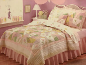 Handcrafted Quilt Twin Bedding Set