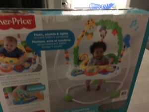 Brand new go wild fisher price jumperoo