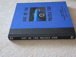 Art of the Muscle Car Hardcover Book London Ontario image 4