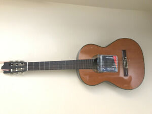 Classical guitar Ibanez with strings