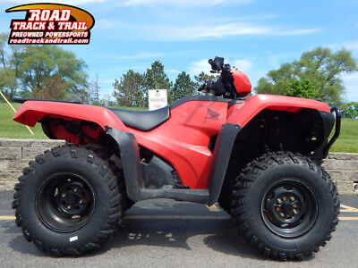 2016 Honda® FourTrax Foreman 4x4 ES    Red