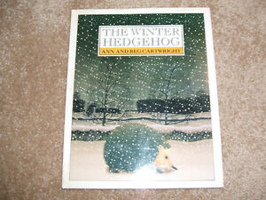 The Winter Hedgehog by Ann Cartwright (1990, Hardcover) DJ
